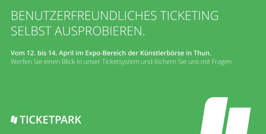 Ticketpark an der Künstlerbörse 2019